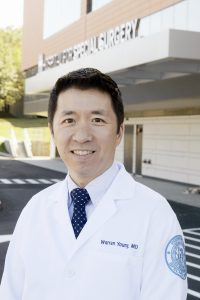 Dr. Warren Young, primary care sports medicine physician