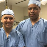 Image - Dr.'s Parks and Rodriguez in Operating Room