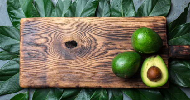 Image - Avocados on Cutting Board