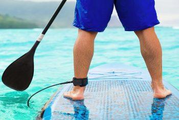 Image - Man Paddleboarding