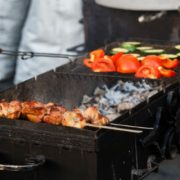 Image - Kebabs on Grill