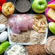 Fitness Food Theme of Nutrition