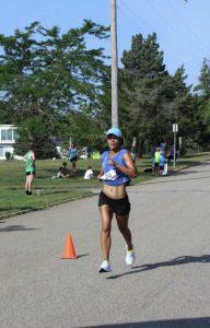 Dr. Duretti Fufa running
