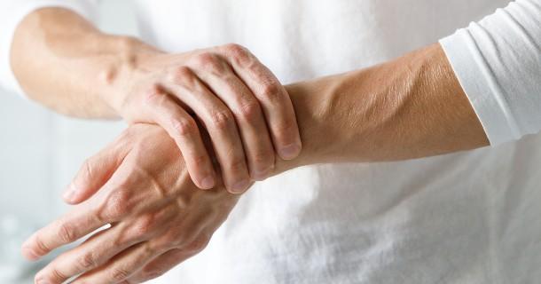 Man with Arthritic Pain