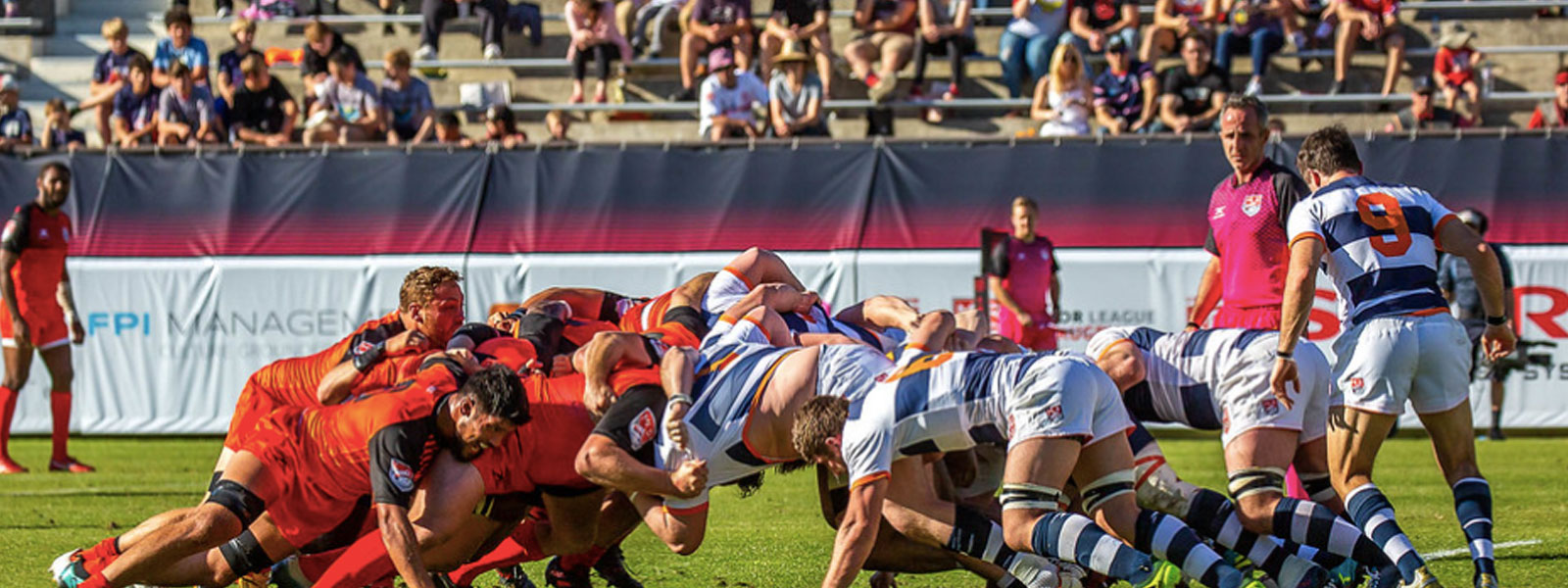 Banner photo from a Rugby United New York match.