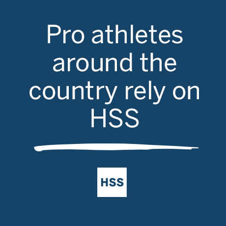 Graphic - Pro athletes around the country rely on HSS