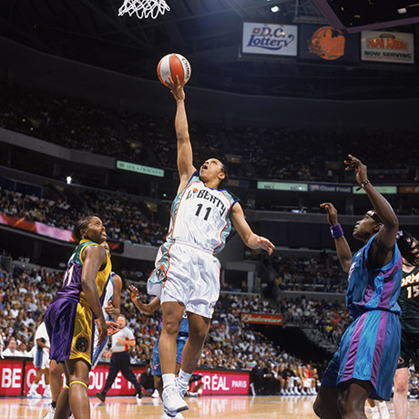 Image - New York Liberty's Teresa Weatherspoon